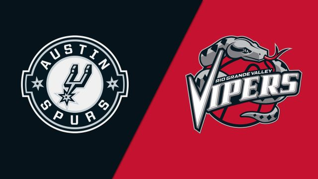 Austin Spurs vs. Rio Grande Valley Vipers