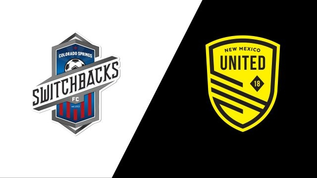 Colorado Springs Switchbacks FC vs. New Mexico United (USL Championship)