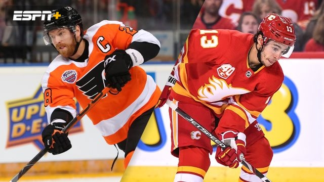 Philadelphia Flyers vs. Calgary Flames