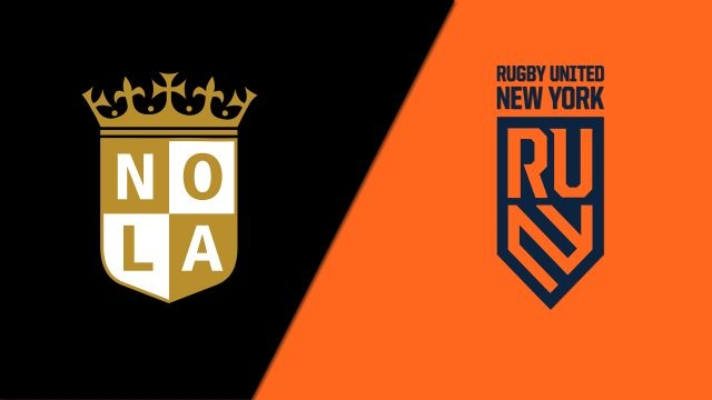 NOLA Gold vs. Rugby United New York (Major League Rugby)
