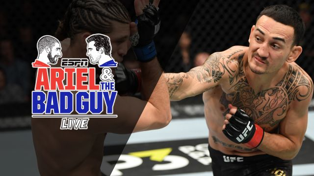 Ariel & The Bad Guy Live: UFC 231 Post-Show: Holloway clashes with Ortega