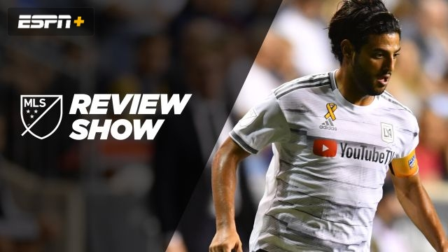 Mon, 9/16 - MLS Review: LAFC locks up spot in standings