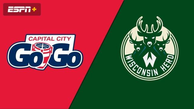 Capital City Go-Go vs. Wisconsin Herd