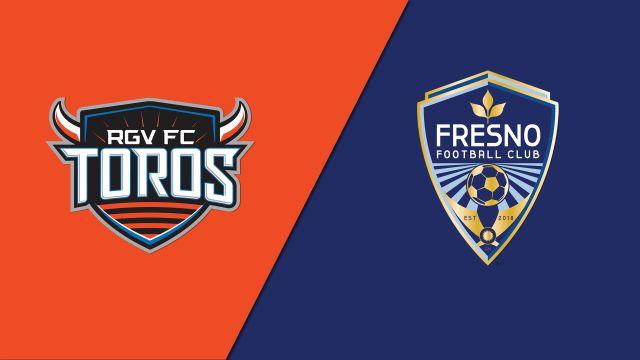 Rio Grande Valley FC Toros vs. Fresno FC (United Soccer League)