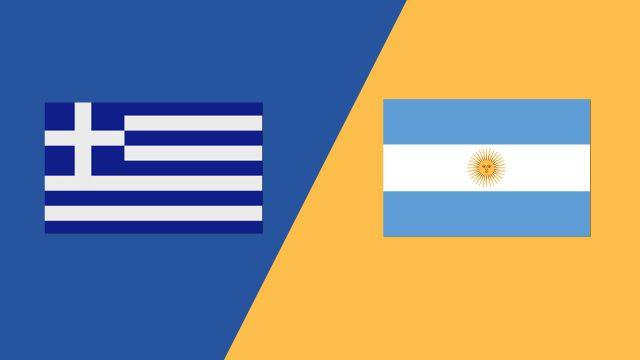 Greece vs. Argentina (2018 FIL World Lacrosse Championships)