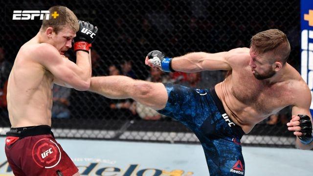 Arnold Allen vs. Nik Lentz (UFC Fight Night: Blaydes vs. Dos Santos)