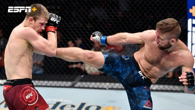 Arnold Allen vs. Nik Lentz (UFC Fight Night: Blaydes vs. Dos Santos)