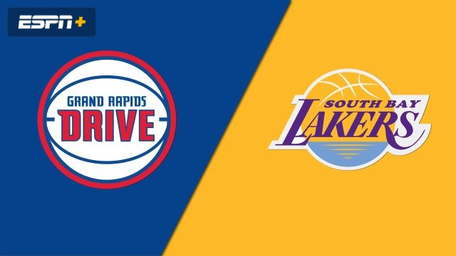 Grand Rapids Drive vs. South Bay Lakers