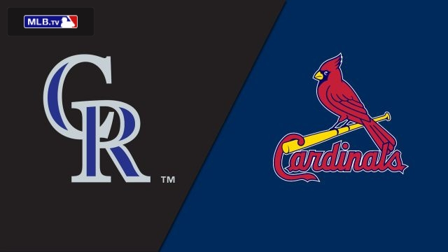 Colorado Rockies vs. St. Louis Cardinals