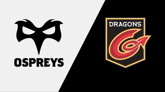 Ospreys vs. Dragons (Guinness PRO14 Rugby)