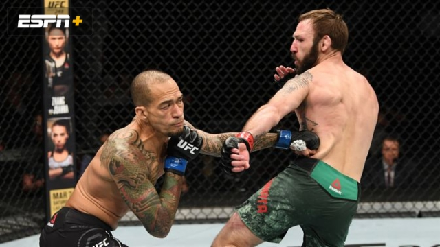 Lando Vannata vs. Yancy Medeiros (UFC Fight Night: Anderson vs. Blachowicz 2)