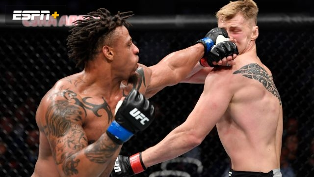 Alexander Volkov vs. Greg Hardy (UFC Fight Night: Zabit vs. Kattar)