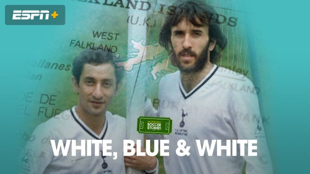 White, Blue and White