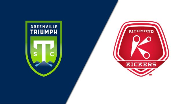 Greenville Triumph SC vs. Richmond Kickers