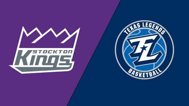 Stockton Kings vs. Texas Legends