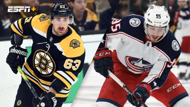 Boston Bruins vs. Columbus Blue Jackets