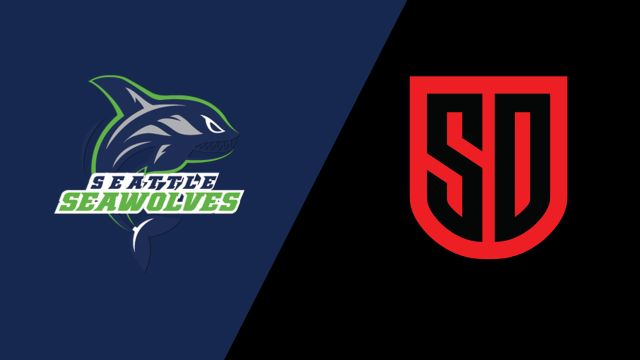 Seattle Seawolves vs San Diego Legion (Major League Rugby)