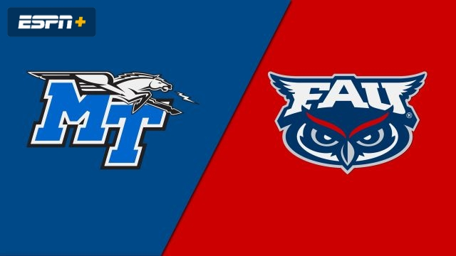 Middle Tennessee vs. Florida Atlantic (M Basketball)