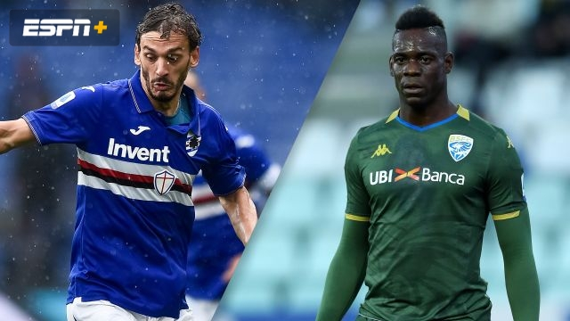 In Spanish-Sampdoria vs. Brescia (Serie A)