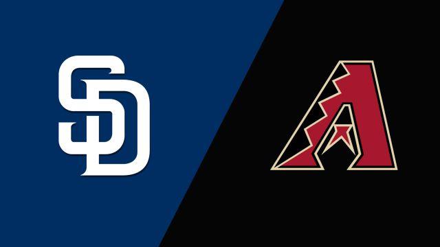 San Diego Padres vs. Arizona Diamondbacks