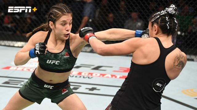 Carla Esparza vs. Alexa Grasso (UFC Fight Night: Rodriguez vs. Stephens)