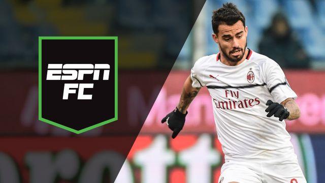 Mon, 1/21 - ESPN FC: AC Milan moves into top 4
