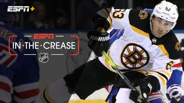 Mon, 10/28 - In the Crease: Marchand helps power Bruins