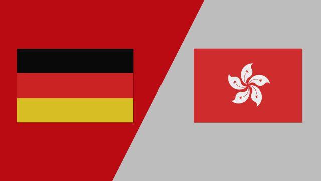 Germany vs. Hong Kong (2018 FIL World Lacrosse Championships)
