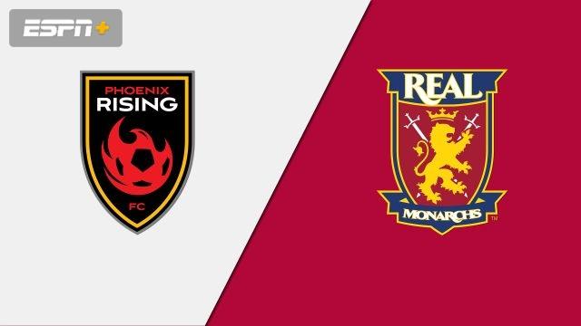 Phoenix Rising FC vs. Real Monarchs SLC (USL Championship)