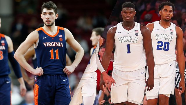 Player Iso Cam: #4 Virginia vs. #1 Duke (M Basketball)