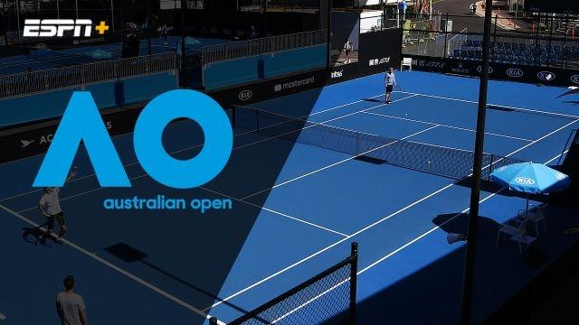 (7) Peers/Venus vs. Nielsen/Puetz (Men's Doubles First Round)