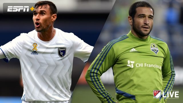 San Jose Earthquakes vs. Seattle Sounders FC (MLS)