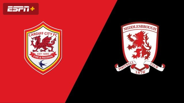 Cardiff City vs. Middlesbrough (English League Championship)