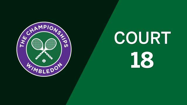 (3) Krejcikova/Siniakova vs. (14) Hradecka/Hsieh (Ladies' Doubles Third Round)
