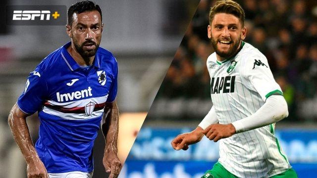 Sampdoria vs. Sassuolo (Serie A)