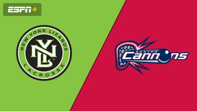 New York Lizards vs. Boston Cannons (Major League Lacrosse)
