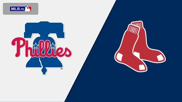 Philadelphia Phillies vs. Boston Red Sox