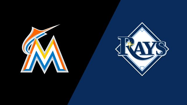 Miami Marlins vs. Tampa Bay Rays