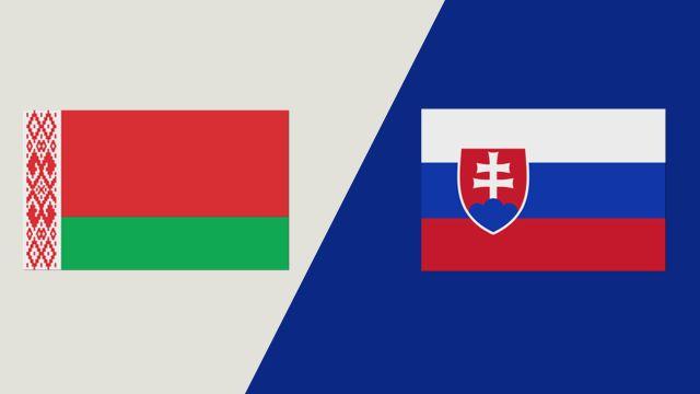 Belarus vs. Slovakia (IIHF World Championship)