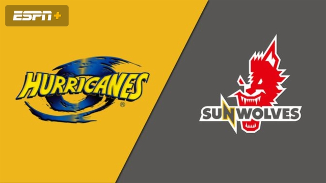 Hurricanes vs. Sunwolves (Super Rugby)