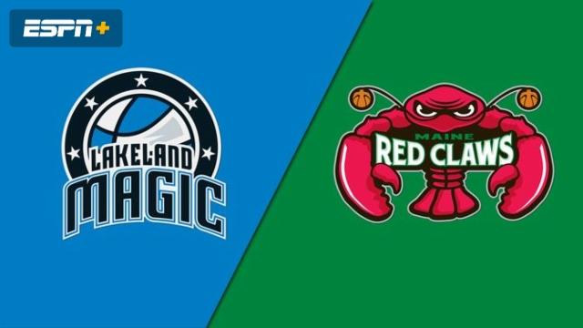 Lakeland Magic vs. Maine Red Claws