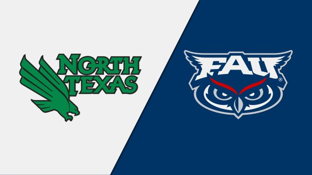 North Texas vs. Florida Atlantic (M Basketball)