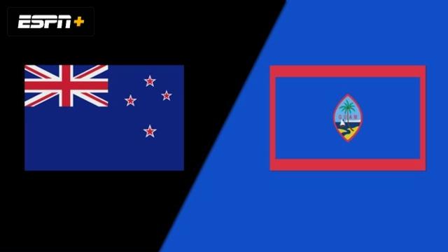 New Zealand vs. Guam