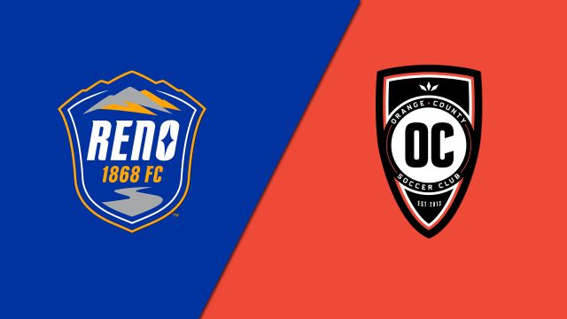 Reno 1868 FC vs. Orange County SC (United Soccer League)