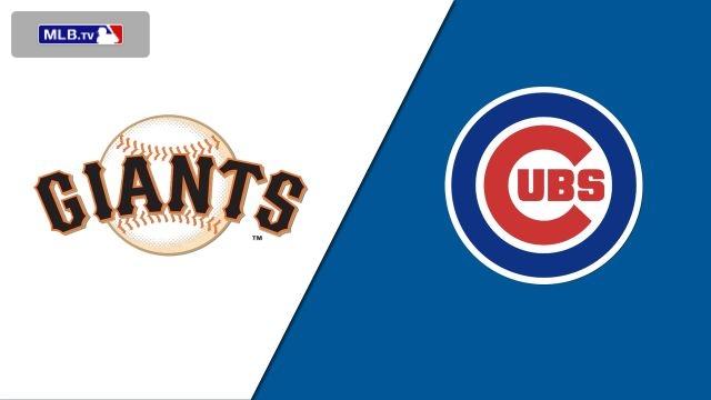 San Francisco Giants vs. Chicago Cubs