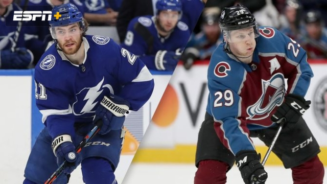 Tampa Bay Lightning vs. Colorado Avalanche