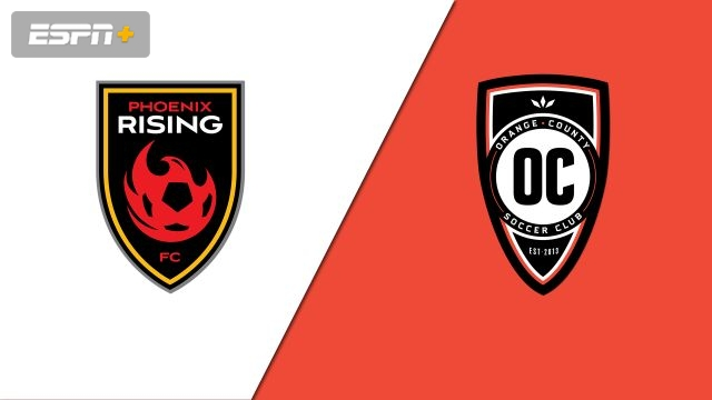 Phoenix Rising FC vs. Orange County SC (USL Championship)