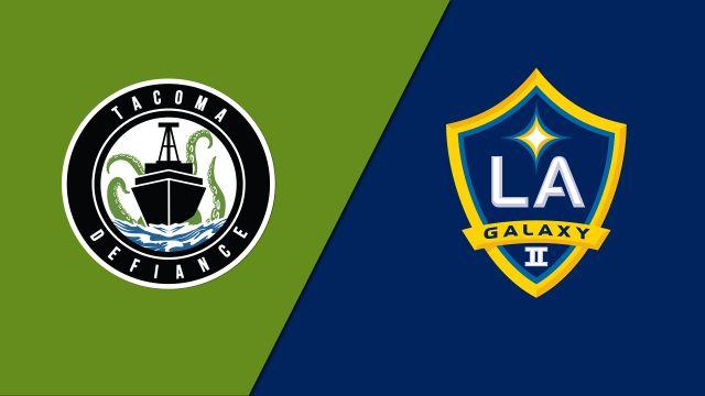 Tacoma Defiance vs. LA Galaxy II (United Soccer League)