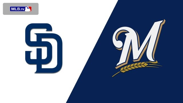 San Diego Padres vs. Milwaukee Brewers
