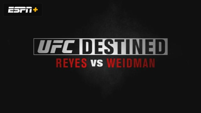 UFC Destined: Reyes vs Weidman (Part 1)